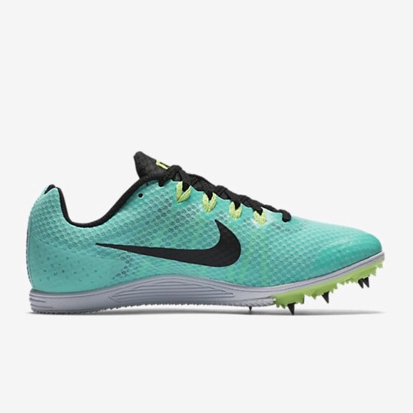 best sneakers 5441e f99bb Nike Zoom Rival D Distance Track Spikes Turquoise